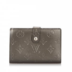 Louis Vuitton Monogram Mat French Purse