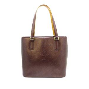 Louis Vuitton Monogram Mat Stockton Handbag