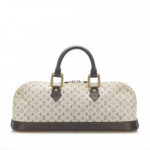 Louis Vuitton Monogram Mini Lin Alma Long Handbag