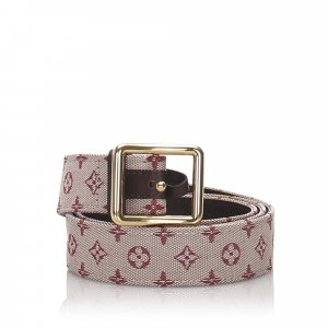Louis Vuitton Monogram Mini Lin Belt