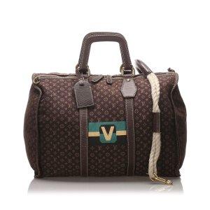 Louis Vuitton Monogram Mini Lin Initiales Keepall 45