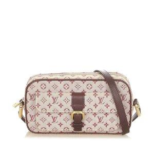 Louis Vuitton Gekruiste tas rood Katoen