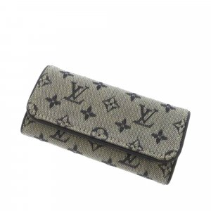 Louis Vuitton Monogram Mini Lin Multicles 4 Key Holder