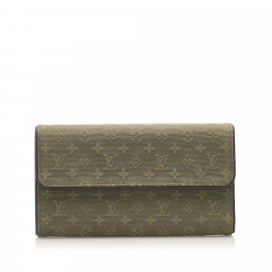Louis Vuitton Monogram Mini Lin Porte Tresor International Wallet