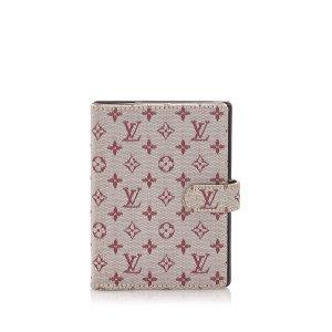 Louis Vuitton Monogram Mini Lin Small Ring Agenda