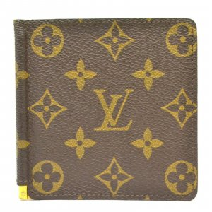 Louis Vuitton Wallet brown textile fiber