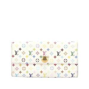 Louis Vuitton Monogram Multicolor Sarah Long Wallet