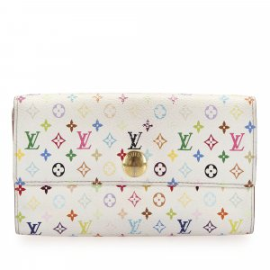 Louis Vuitton Monogram Multicolor Sarah Long Wallet