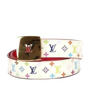 Louis Vuitton Cinturón blanco