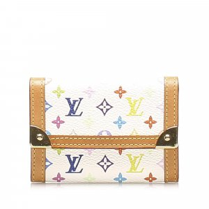 Louis Vuitton Monogram Multicolore Porte Monnaie Plat