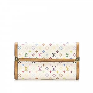 Louis Vuitton Monogram Multicolore Porte Tresor International
