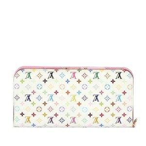 Louis Vuitton Monogram Multicolore Portefeuille Ansoritto Wallet