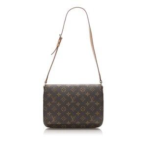 Louis Vuitton Schoudertas bruin