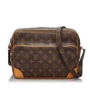 Louis Vuitton Borsa a spalla marrone