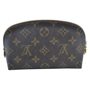 Louis Vuitton Clutch brown leather