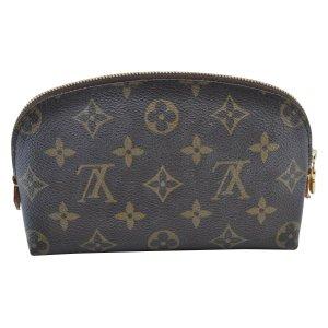 Louis Vuitton Pochette brun cuir