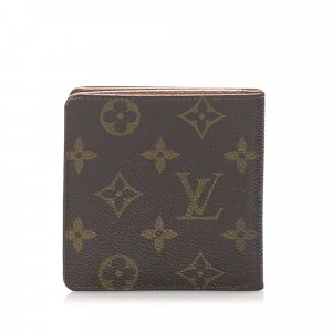 Louis Vuitton Monogram Porte Cartes Bifold Wallet