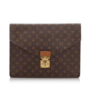 Louis Vuitton Zakentas bruin
