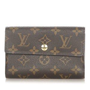 Louis Vuitton Portmonetka ciemnobrązowy