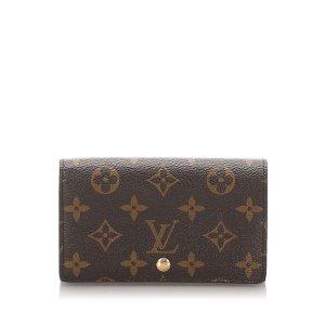 Louis Vuitton Monogram Porte Monnaie Billets Tresor