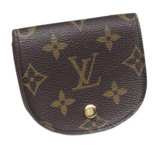 Louis Vuitton Monogram Porte Monnaie Gousset Coin Pouch