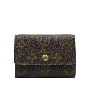 Louis Vuitton Monogram Porte-Monnaie Plat Coin Purse