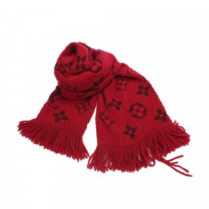 Louis Vuitton Sjaal rood Wol