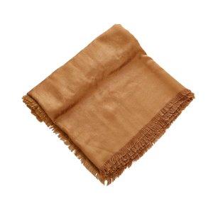 Louis Vuitton Bufanda marrón Seda