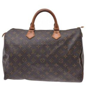 Louis Vuitton Bolso marrón fibra textil