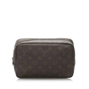 Louis Vuitton Pouch Bag dark brown