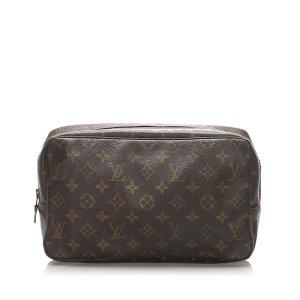 Louis Vuitton Borsellino marrone scuro