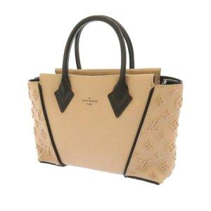 Louis Vuitton Mochila de colegio beige Cuero