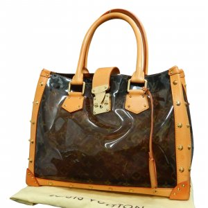 Louis Vuitton Monogram Vinyl Neo Cabas Ambre MM