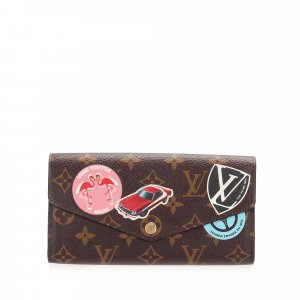 Louis Vuitton Monogram World Tour Sarah Wallet