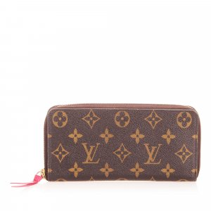 Louis Vuitton Monogram Zippy Long Wallet