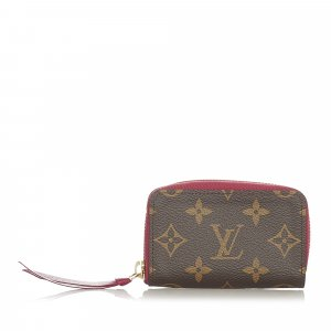 Louis Vuitton Monogram Zippy Long Wallet