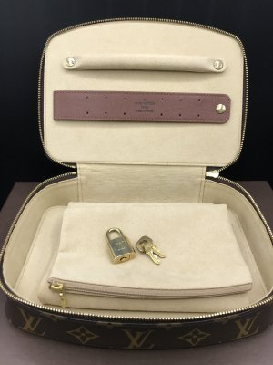 Louis Vuitton Monte Carlo Jewelry Case M47350 Schmucketui Monogram Canvas