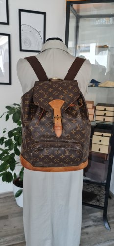 Louis Vuitton Backpack Trolley bronze-colored