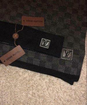Louis Vuitton Cappello in tessuto nero-grigio