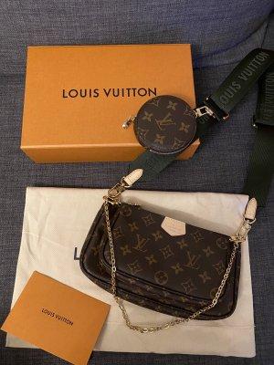 Louis Vuitton Multi Pochette Accessoires Khaki