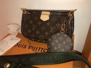 Louis Vuitton Multi Pochette Accessoires ORIGINAL!!! Kaki Khaki