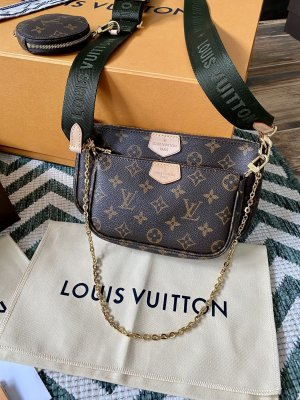 Louis Vuitton Multi Pochette Khaki - NEU
