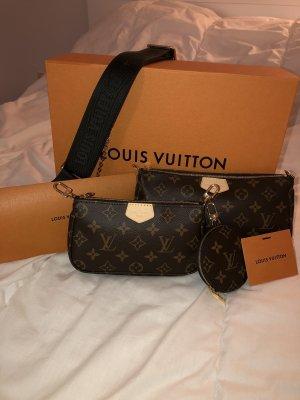 Louis Vuitton Multi Pochette Neu OVP Ausverkauft Schultertasche Khaki LV Canvas