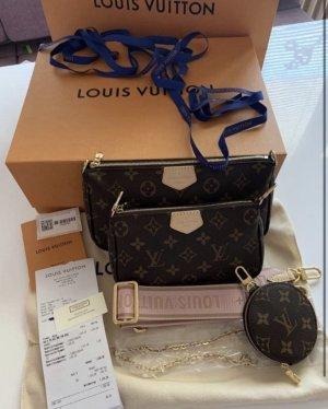 Louis Vuitton Bandolera marrón oscuro