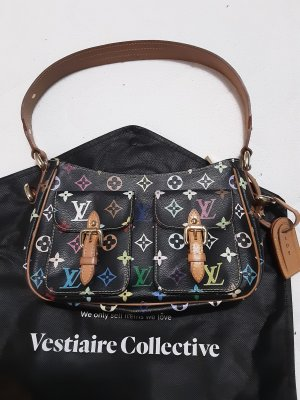 "Louis Vuitton multicolor black "" Lodge "" Handtasche vintage"