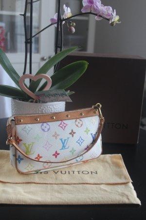 Louis Vuitton Multicolor Pochtet weiss SELTEN