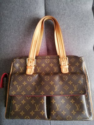 Louis Vuitton Handbag brown-camel leather