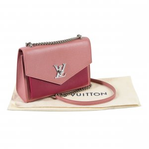 Louis Vuitton Mylockme BB Leder Handtasche Lockme Rosa @mylovelyboutique.com