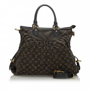 Louis Vuitton Mochila de colegio marrón