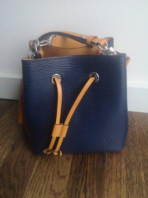 Louis Vuitton Schoudertas goud Oranje-donkerblauw Leer